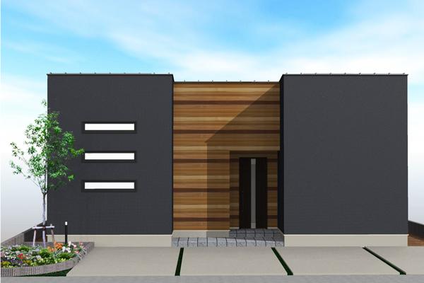 ひたちなか市デザイン住宅平屋