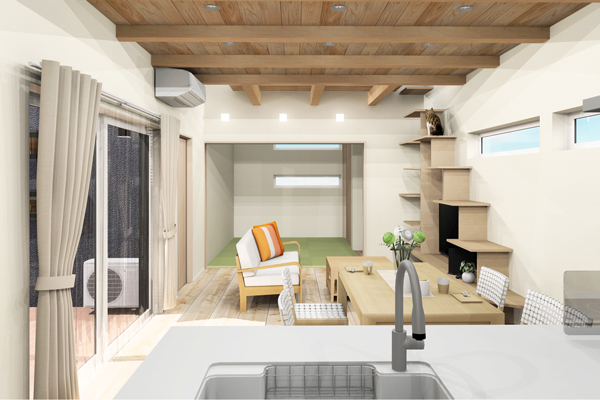 ひたちなか市デザイン住宅平屋3