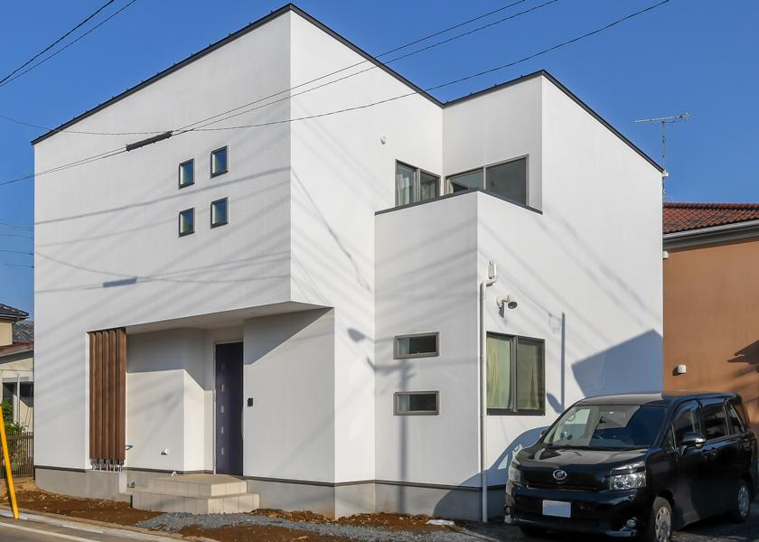 水戸市収納階段のある家